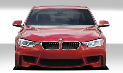 Extreme Dimensions 16 - BMW 3 Series 4DR Duraflex 1M Look Front Bumper Cover - 1 Piece - 109306