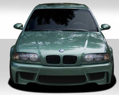 Extreme Dimensions 16 - BMW 3 Series Duraflex 1M Look Front Bumper Cover - 1 Piece - 109313