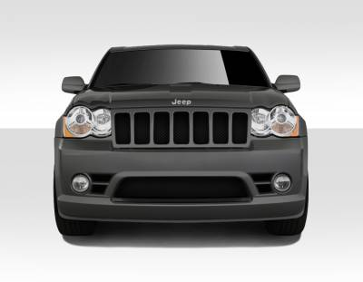 Duraflex - Jeep Grand Cherokee Duraflex SRT Look Front Bumper Cover - 1 Piece - 109327