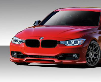 Extreme Dimensions 16 - BMW 3 Series 4DR Duraflex K-Sport Front Lip Under Air Dam Spoiler - 1 Piece - 109354