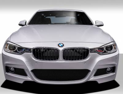 Extreme Dimensions 16 - BMW 3 Series 4DR Duraflex M Sport Look Front Bumper Cover - 1 Piece - 109408