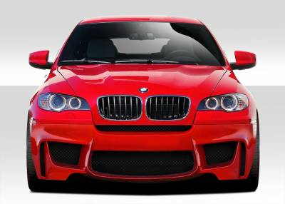 Extreme Dimensions 16 - BMW X6 Duraflex 1M Look Front Bumper Cover - 1 Piece - 109473