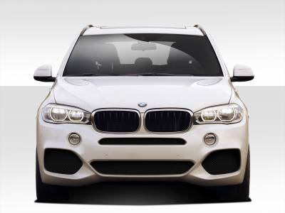 Extreme Dimensions 16 - BMW X5 Duraflex M Sport Look Front Bumper Cover - 1 Piece - 109546