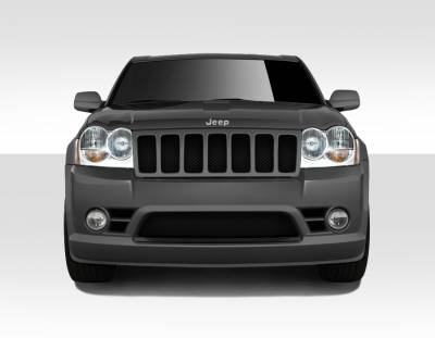 Jeep Grand Cherokee Duraflex SRT Look Front Bumper Cover - 1 Piece - 109549