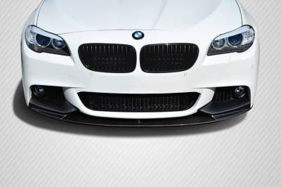 Extreme Dimensions 16 - BMW 5 Series Carbon Creations M Performance Look Front Lip Splitter - 1 Piece - 109557