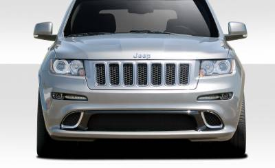 Extreme Dimensions 16 - Jeep Grand Cherokee Duraflex SRT Look Front Bumper Cover - 1 Piece - 109616