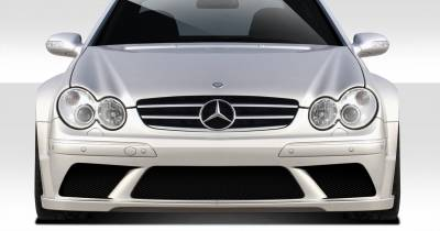Extreme Dimensions 16 - Mercedes-Benz CLK Duraflex Duraflex Black Series Look Wide Body Front Bumper Cover - 1 Piece - 109664