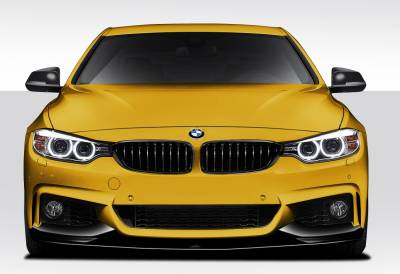 Spyder - BMW 4 Series Duraflex M Performance Look Front Spoiler Splitters - 3 Piece - 109781