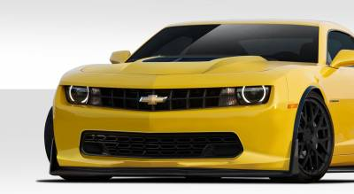 Chevrolet Camaro Duraflex Stingray Z Look Front Lip Under Air Dam Spoiler - 1 Piece - 109820