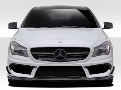 Extreme Dimensions 16 - Mercedes-Benz CLA Duraflex Black Series Look Front Bumper Cover - 5 Piece - 112006