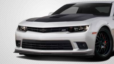 Extreme Dimensions 16 - Chevrolet Camaro Carbon Creations GM-X Front Lip Under Air Dam Spoiler - 1 Piece - 112231