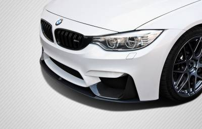 Extreme Dimensions 16 - BMW 3 Series Carbon Creations M Performance Look Front Add Ons - 2 Piece - 112245