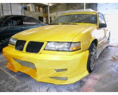 FX Designs - Pontiac Grand Am FX Design VS Style Front Bumper - FX-1035