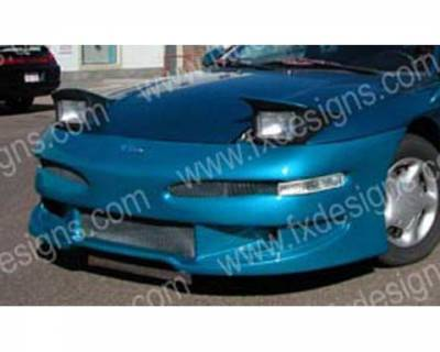 FX Designs - Ford Probe FX Design Series 2 Style Front Bumper Cover - FX-915