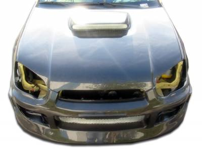 Subaru WRX Carbon Creations STI Look Hood - 1 Piece - 100598