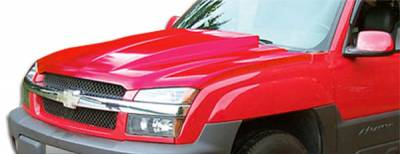 Extreme Dimensions 16 - Chevrolet Avalanche Duraflex Cowl Hood - 1 Piece - 103026