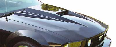 Extreme Dimensions 16 - Ford Mustang Duraflex Spyder3 Hood - 1 Piece - 104170