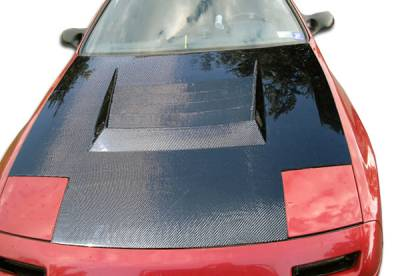 Extreme Dimensions 16 - Mazda RX-7 Carbon Creations D-1 Hood - 1 Piece - 104230