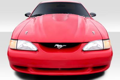Extreme Dimensions 16 - Ford Mustang Duraflex Cobra R Hood - 1 Piece - 104708