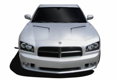 Extreme Dimensions 16 - Dodge Charger Duraflex Challenger Hood - 1 Piece - 104854