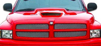 Spec-D - Dodge Ram Duraflex SRT Look Hood - 1 Piece - 105996