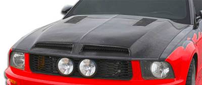 Extreme Dimensions 16 - Ford Mustang Carbon Creations GT500 Hood - 1 Piece - 106386