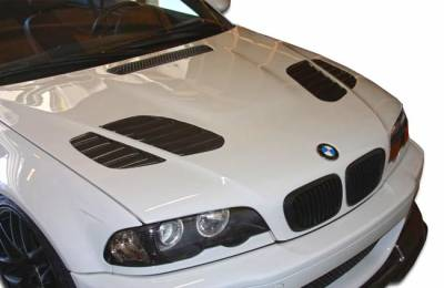 VIS Racing - BMW 3 Series 2DR Duraflex GT-R Look Hood - 1 Piece - 107179