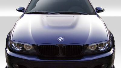 Extreme Dimensions 16 - BMW 3 Series 2DR Duraflex M3 Look Hood- 1 Piece - 108627