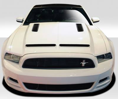 Extreme Dimensions 16 - Ford Mustang Duraflex GT500 Hood - I Piece - 109241