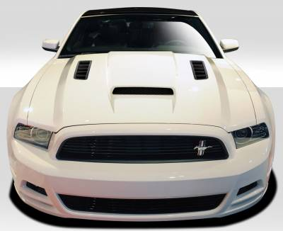 Extreme Dimensions 16 - Ford Mustang Duraflex CV-X Hood - 1 Piece - 109258