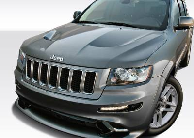 Extreme Dimensions 16 - Jeep Grand Cherokee Duraflex SRT Look Hood - 1 Piece - 109326