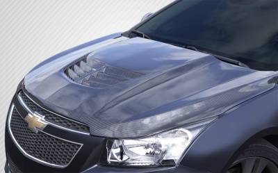 Extreme Dimensions 16 - Chevrolet Cruze Carbon Creations Stingray Z Hood- 1 Piece - 112408