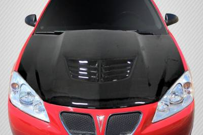 Sarona - Pontiac G6 Carbon Creations Stingray Z Hood- 1 Piece - 112423