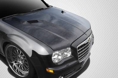 Chrysler 300 Carbon Creations Challenger Hood - 1 Piece - 112476