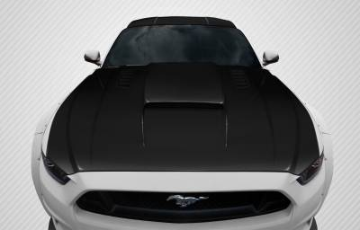 Extreme Dimensions 16 - Ford Mustang Carbon Creations CVX Hood - 1 Piece - 112582