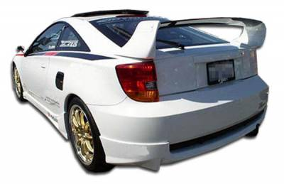 Extreme Dimensions 16 - Toyota Celica Duraflex TD3000 Rear Lip Under Spoiler Air Dam - 1 Piece - 100195