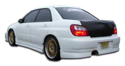Extreme Dimensions 16 - Subaru WRX Duraflex C-Speed Rear Lip Under Spoiler Air Dam - 1 Piece - 100390