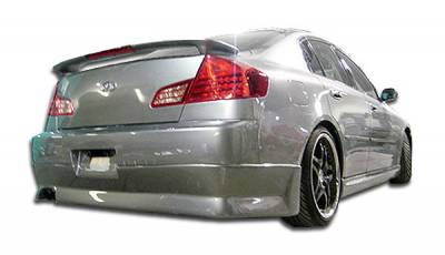 Extreme Dimensions 16 - Infiniti G35 4DR Duraflex GT Competition Rear Lip Under Spoiler Air Dam - 1 Piece - 100471