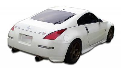 Extreme Dimensions 16 - Nissan 350Z Duraflex N-1 Rear Add On Bumper Extensions - 2 Piece - 100496