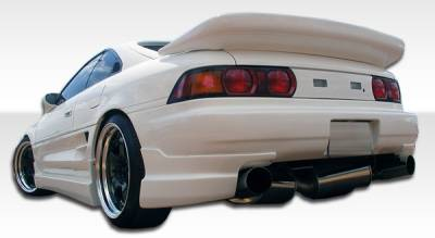 Extreme Dimensions 16 - Toyota MR2 Duraflex Type B Rear Add On Bumper Extensions - 2 Piece - 101035