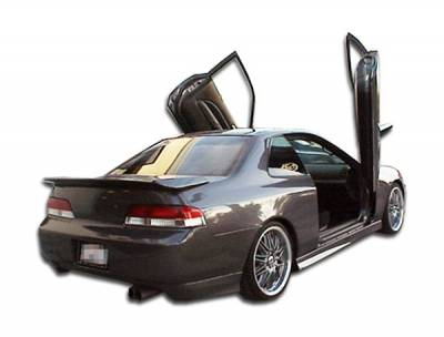 Extreme Dimensions - Honda Prelude Duraflex Type M Rear Add On Bumper Extensions - 2 Piece - 101847