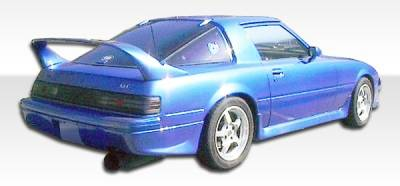 Extreme Dimensions 16 - Mazda RX-7 Duraflex M-1 Speed Rear Lip Under Spoiler Air Dam - 1 Piece - 102438