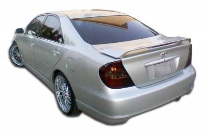 Extreme Dimensions 16 - Toyota Camry Duraflex Vortex Rear Add On Bumper Extensions - 2 Piece - 104218