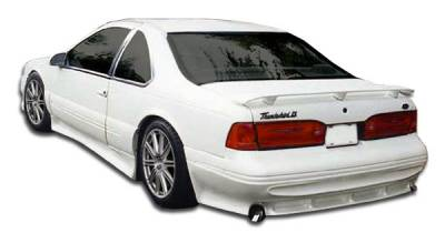 Extreme Dimensions 16 - Mercury Cougar Duraflex Racer Rear Lip Under Spoiler Air Dam - 1 Piece - 104377