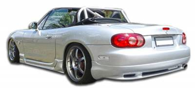 Extreme Dimensions 16 - Mazda Miata Duraflex Wizdom Rear Lip Under Spoiler Air Dam - 1 Piece - 105962