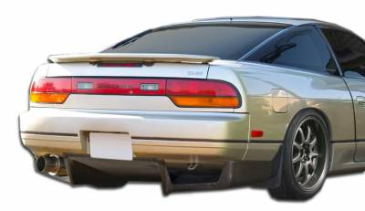 Extreme Dimensions 16 - Nissan 240SX HB Carbon Creations Fulvius Rear Diffuser - 3 Piece - 106794