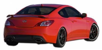 Extreme Dimensions 16 - Hyundai Genesis Duraflex J-Spec Rear Add On Bumper Extensions - 2 Piece - 107754