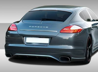 Porsche Panamera Duraflex Eros Version 2 Rear Lip Under Spoiler Air Dam - 1 Piece - 108279