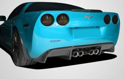 Corbeau - Chevrolet Corvette Carbon Creations GT500 Rear Diffuser - 1 Piece - 108411