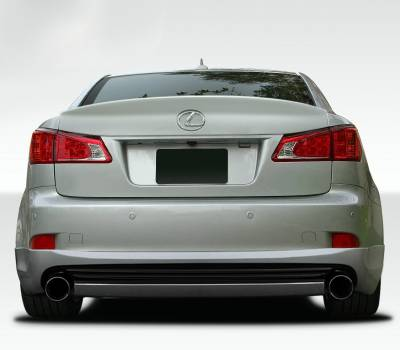 Extreme Dimensions 16 - Lexus IS Duraflex I-Spec Rear Lip Under Spoiler Air Dam - 1 Piece - 108674
